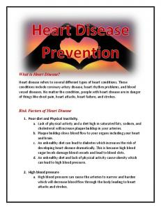 What is Heart Disease? Risk Factors of Heart Disease
