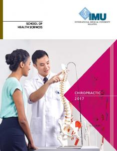 What Is IMU s Chiropractic Programme About?