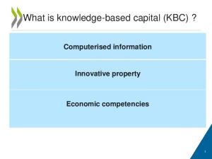 What is knowledge-based capital (KBC)?