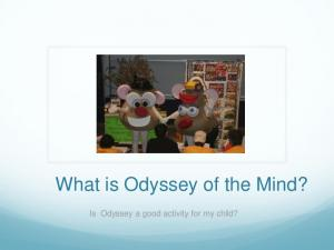 What is Odyssey of the Mind? Is Odyssey a good activity for my child?