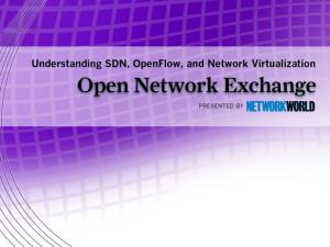 What is SDN? And Why Should I Care? Jim Metzler Vice President Ashton, Metzler & Associates