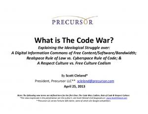 What is The Code War?