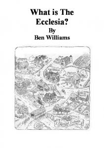 What is The Ecclesia?