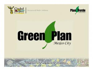 What is the Green Plan?
