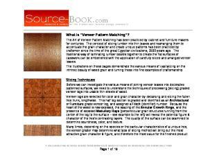 What is Veneer Pattern Matching?