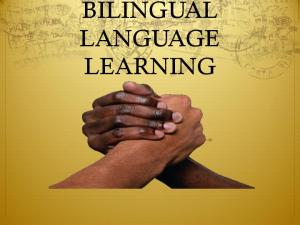 What kind of materials should we use for Bilingual education?