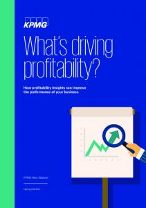 What s driving profitability?