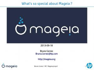 What s so special about Mageia?