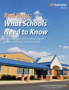 What Schools Need to Know