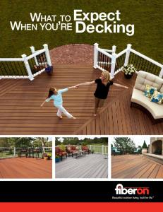 What to Expect When you re Decking