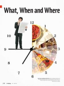 What, When and Where. pg