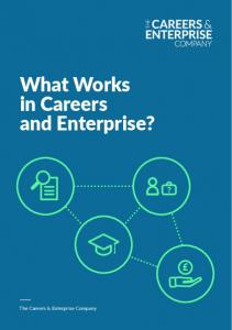 What Works in Careers and Enterprise?