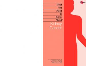 What You Need To Know About Kidney Cancer