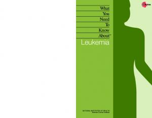 What You Need To Know About Leukemia