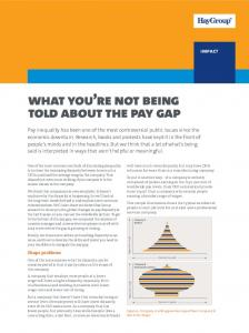 What you re not being told about the pay gap