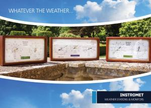 whatever the weather... instromet weather stations & monitors