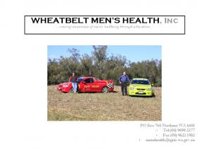 WHEATBELT MEN S HEALTH, Inc raising awareness of men s wellbeing through education