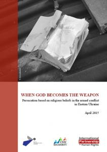 WHEN GOD BECOMES THE WEAPON