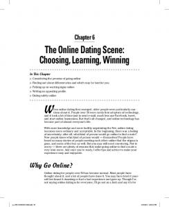 When online dating first emerged, older people were particularly cautious