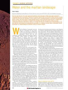 When the Mariner 9 spacecraft went into
