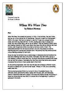When We Were Two. by Robert Newton