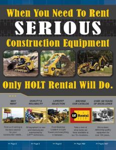 When You Need To Rent SERIOUS Construction Equipment