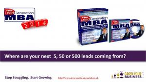 Where are your next 5, 50 or 500 leads coming from? Stop Struggling. Start Growing