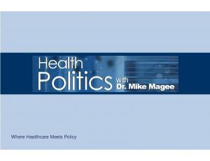 Where Healthcare Meets Policy