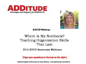 Where Is My Notebook? Teaching Organization Skills That Last