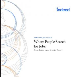 Where People Search for Jobs: