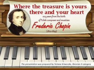 Where the treasure is yours there and your heart