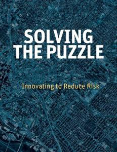 Where to Invest Innovating to Reduce Risk to Understand Risk