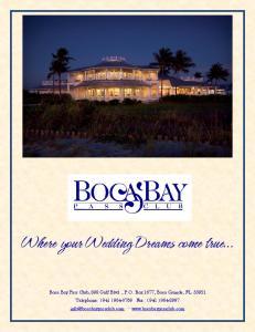 Where your Wedding Dreams come true