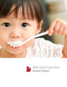 White Center Food Bank Annual Report