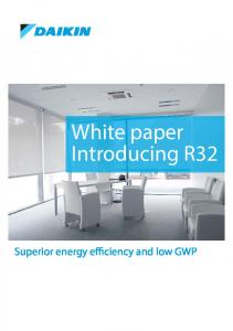 White paper Introducing R32