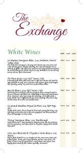 White Wines Bottle 175ml 250ml