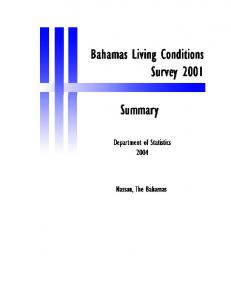 Who are the poor in The Bahamas?