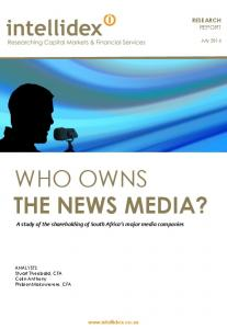WHO OWNS THE NEWS MEDIA?