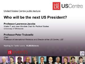 Who will be the next US President?