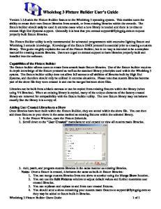 Wholehog 3 Fixture Builder User s Guide