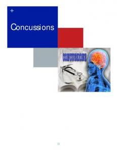 Why are concussion education, management and treatment important?