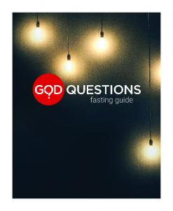 why are we praying & fasting as a church?