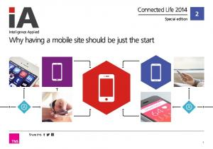Why having a mobile site should be just the start