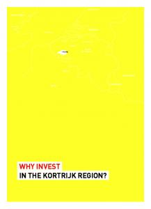 WHY INVEST IN THE KORTRIJK REGION?