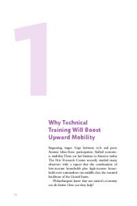 Why Technical Training Will Boost Upward Mobility