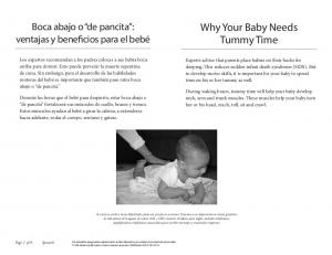 Why Your Baby Needs Tummy Time