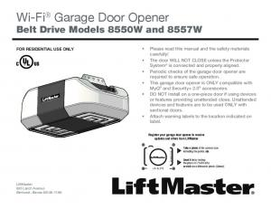 Wi-Fi Garage Door Opener