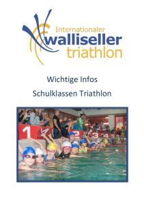 Wichtige Infos Schulklassen Triathlon