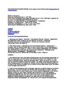 WICHTIGER RECHTLICHER HINWEIS: Für die Angaben auf dieser Website besteht Haftungsausschluss und Urheberrechtsschutz