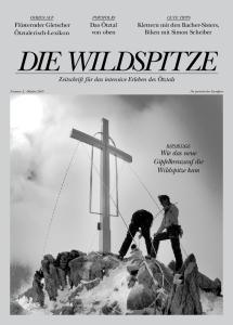 Wie das neue Gipfelkreuzauf die Wildspitze kam